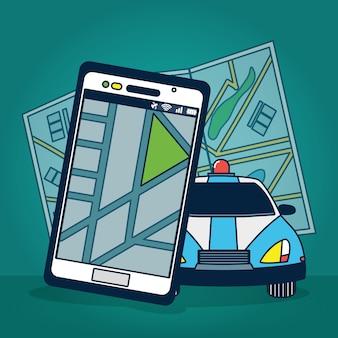 Technologie de suivi GPS