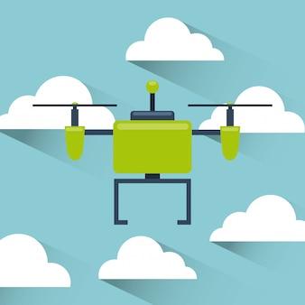 Technologie de drone