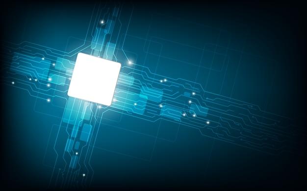 Technologie de fond de carte de circuit imprimé.