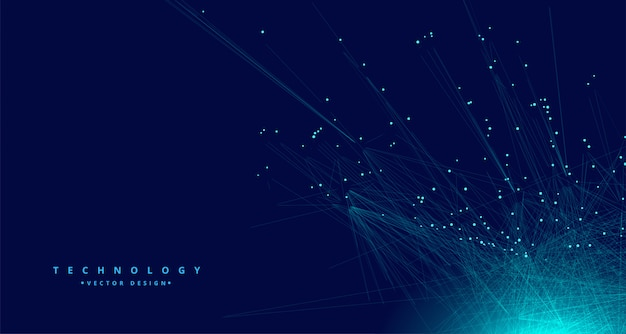 Technologie fond de réseau de données numériques
