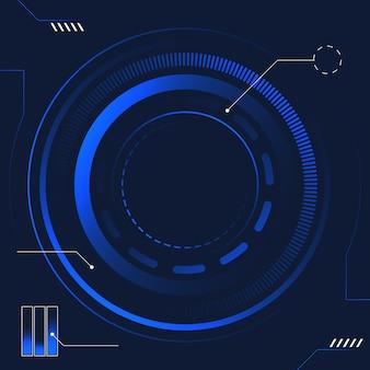 Technologie future abstraite