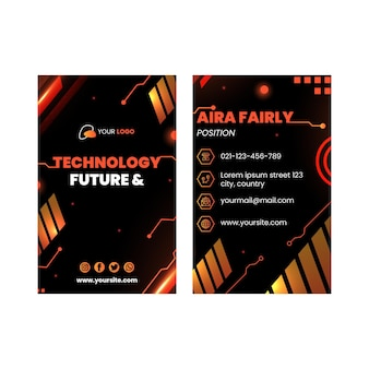 Technologie et future carte de visite