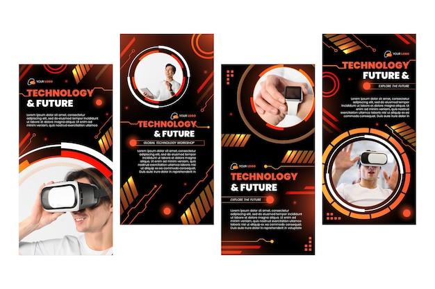 Technologie et futures histoires instagram