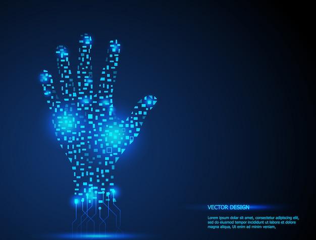 Technologie de la main