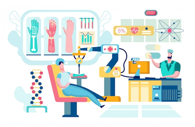 Technologie nano robotique en chirurgie