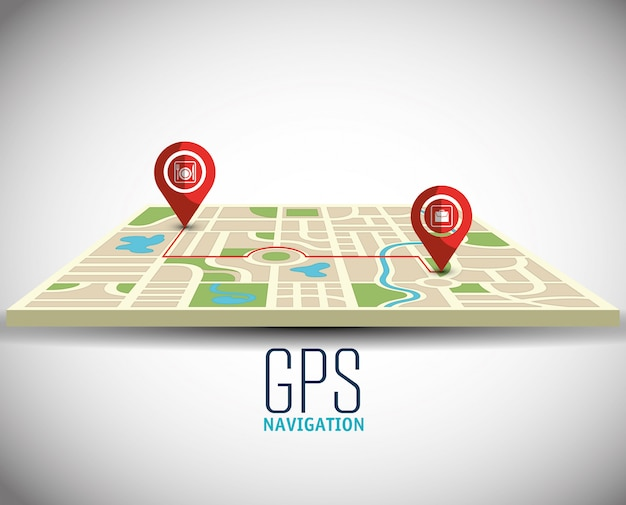 Technologie de navigation gps