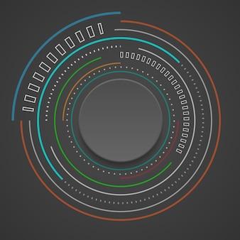 Technologie numérique abstraite