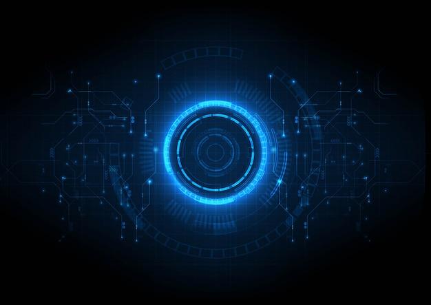 Technologie numérique du circuit central de lumière