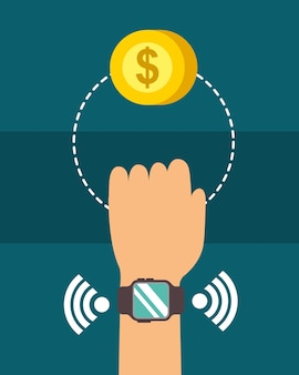 Technologie de paiement nfc