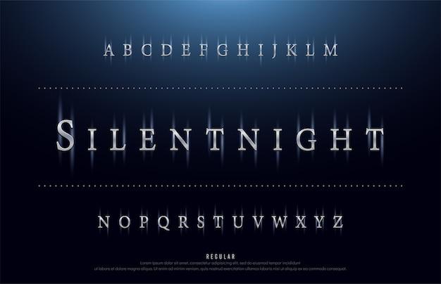 Technologie de police de film de science, alphabet de science-fiction