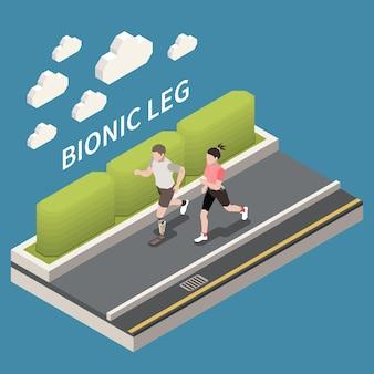 Technologie pour la composition isométrique des personnes handicapées
