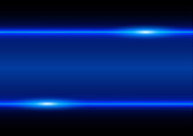 Technologie de rayon bleu abstrait
