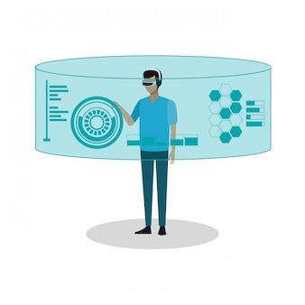 Technologie de réalité virtuelle
