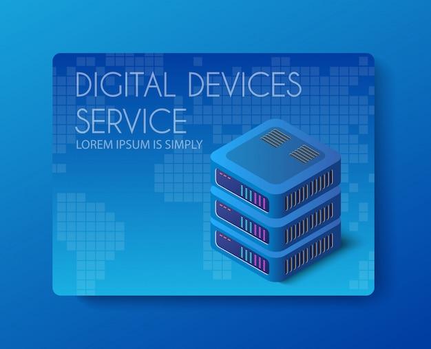Technologie de réseau de serveur