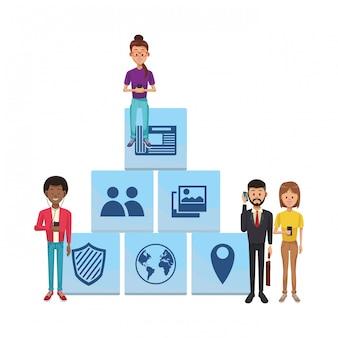 Technologie de réseau social