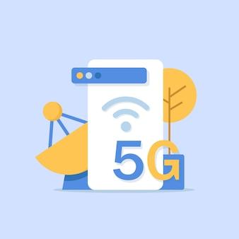 Technologie sans fil réseau 5g