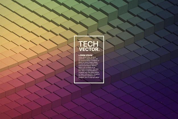 Technologie vecteur abstrait