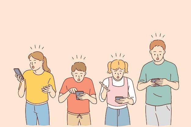 Technologies et concept de choc