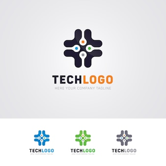 Technology pro création de logo