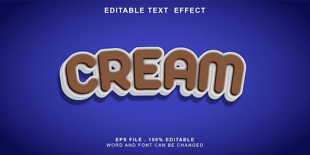 Tect-efect-modifiable-cream