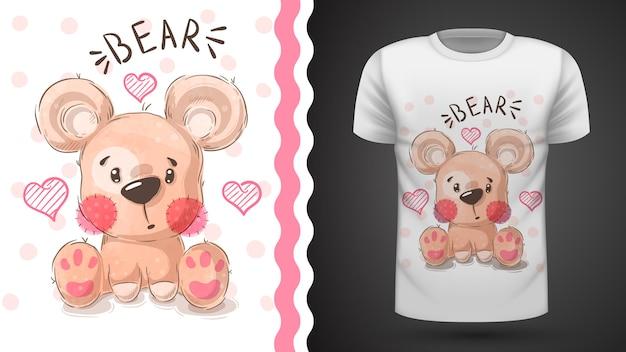 Tee-shirt cute pear - idea for print