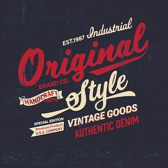 Tee-shirt graphique de marque rétro