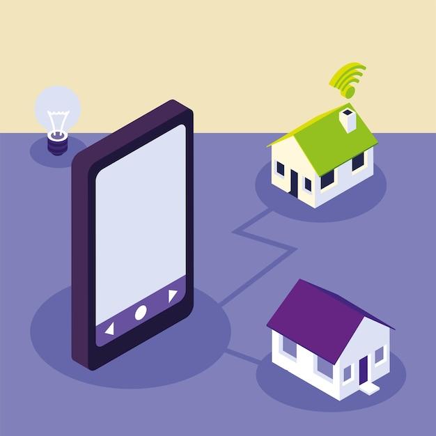 Télécommande maison intelligente