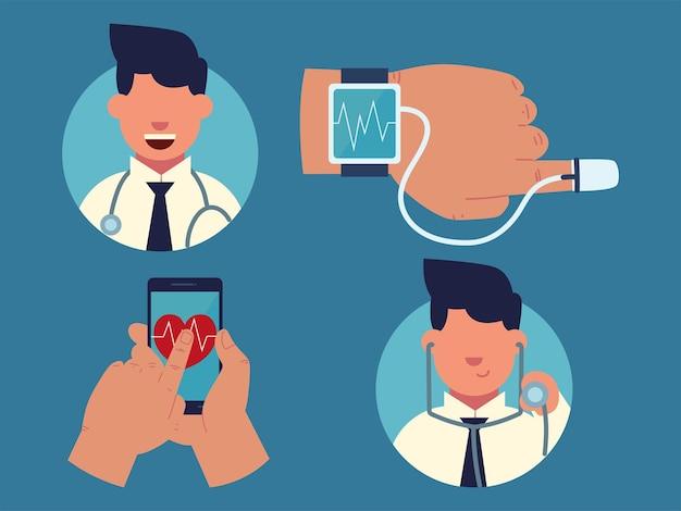 Télécommande médicale de consultation