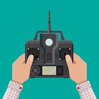 Télécommande pour voiture, drone, mouche et jouet.