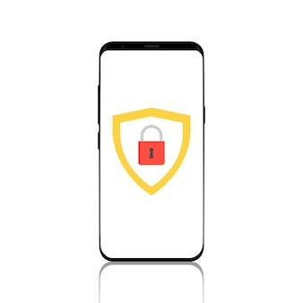 Le téléphone à l'écran affiche un jeton de sécurité