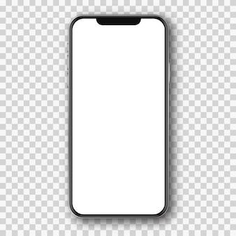 Téléphone portable blanc