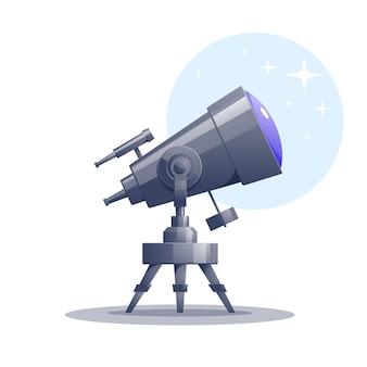 Télescope de dessin animé