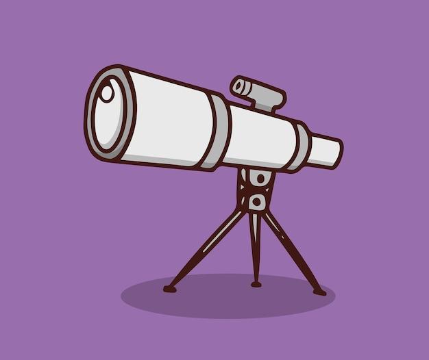 Télescope pour observer les étoiles dans le ciel nocturne