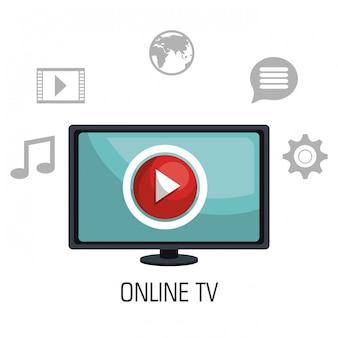 Télévision en ligne