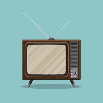 Télévision rétro vintage