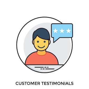 Témoignages de clients