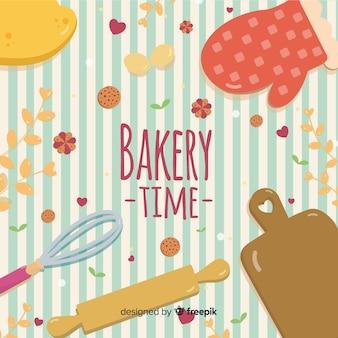 Temps de boulangerie