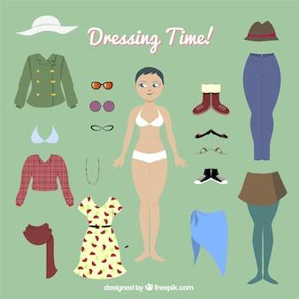 Temps de dressing