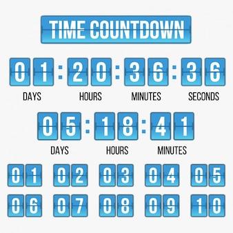 Temps modèle de compte à rebours