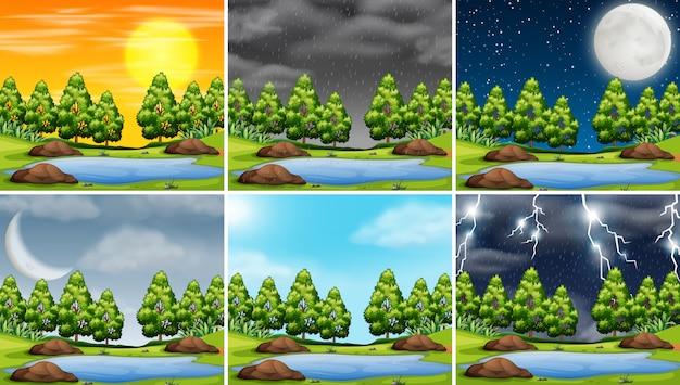 Temps orageux en scène natre