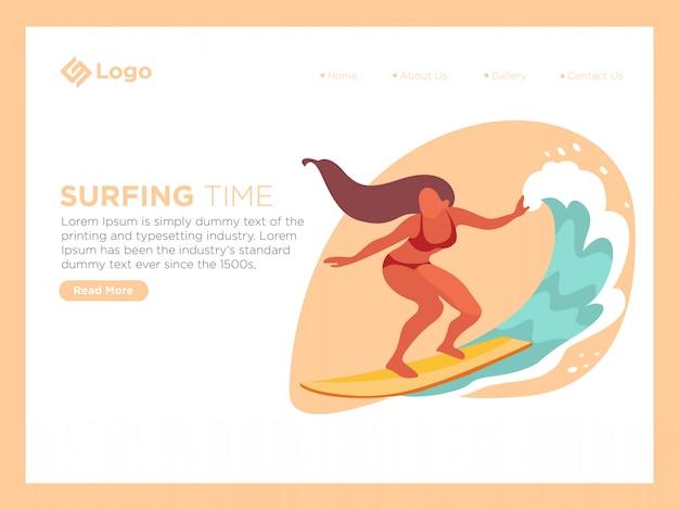 Temps de surf