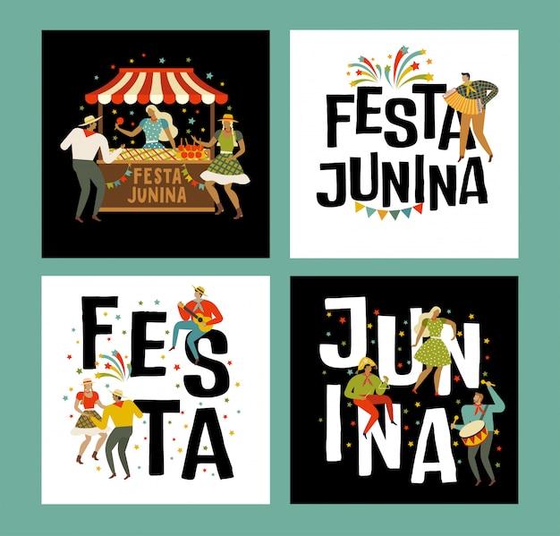 Tente festa junina brésilienne apple candy
