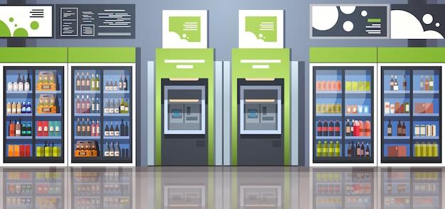Terminal de paiement de guichet automatique