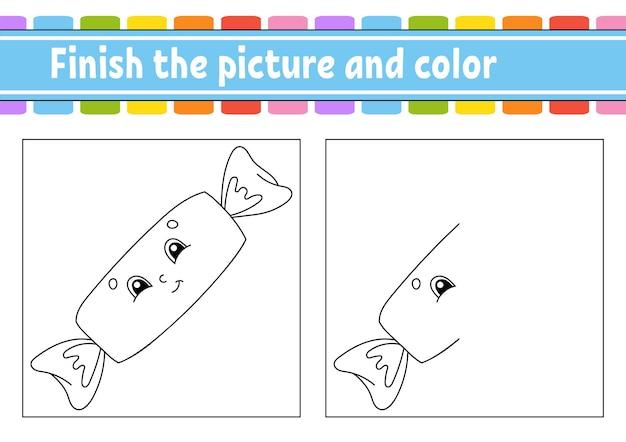 Terminer l'image et la couleur