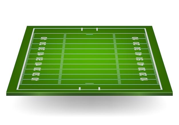 Terrain de football américain.
