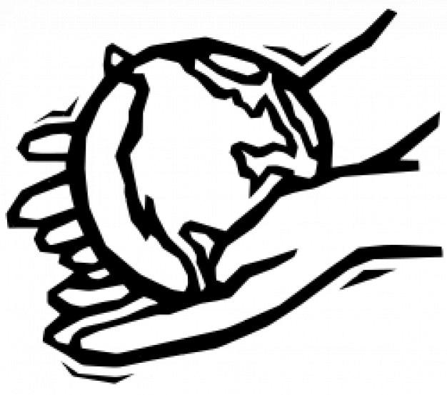Terre dans les mains douces