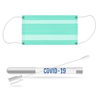 Test médical et protection contre le coronavirus covid-19.