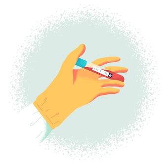 Test sanguin du virus corona