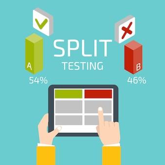 Test de split