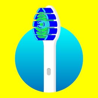 Tête de brosse à dents pour le nettoyage des dents